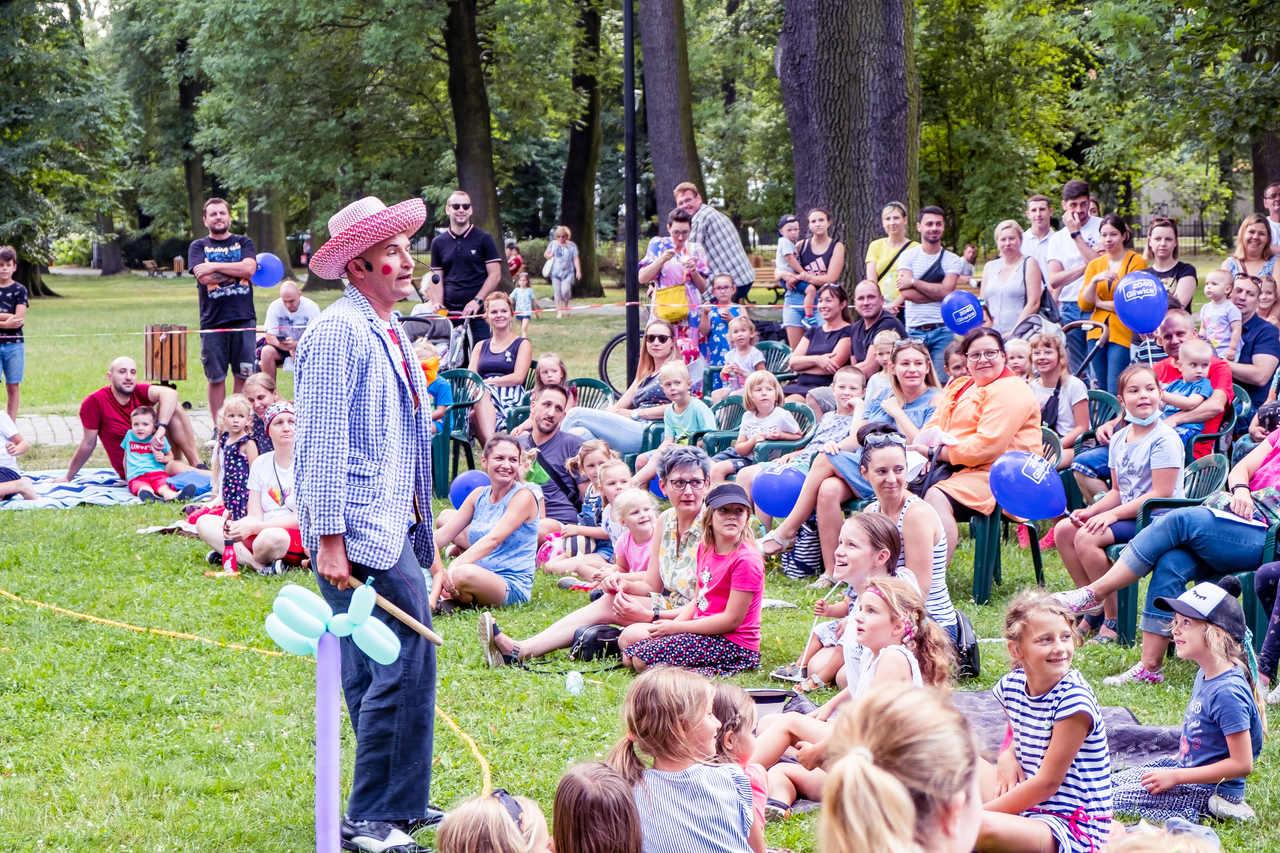 spektakl dla dzieci w parku Chopina