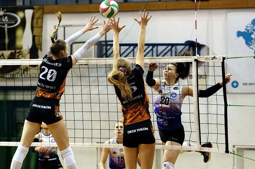 mecz AZS Gliwice - Uni Opole