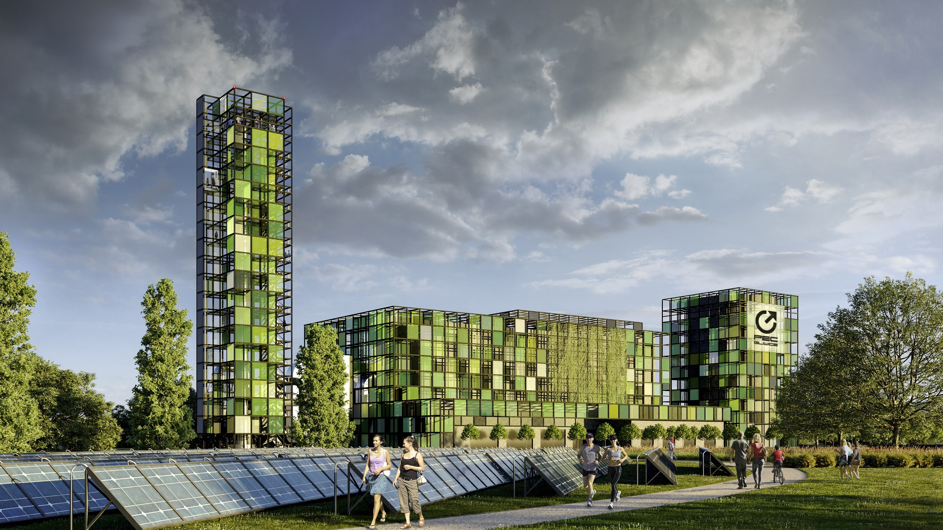 wizualizacja Parku Zielonej Energii