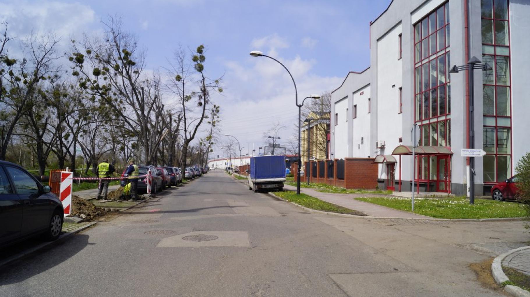 Ul. Wybrzeże Armii Krajowej