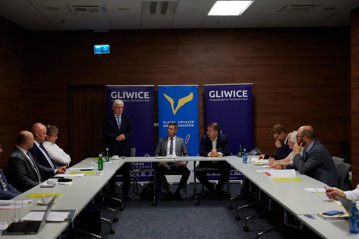 posiedzenie w Arenie Gliwice
