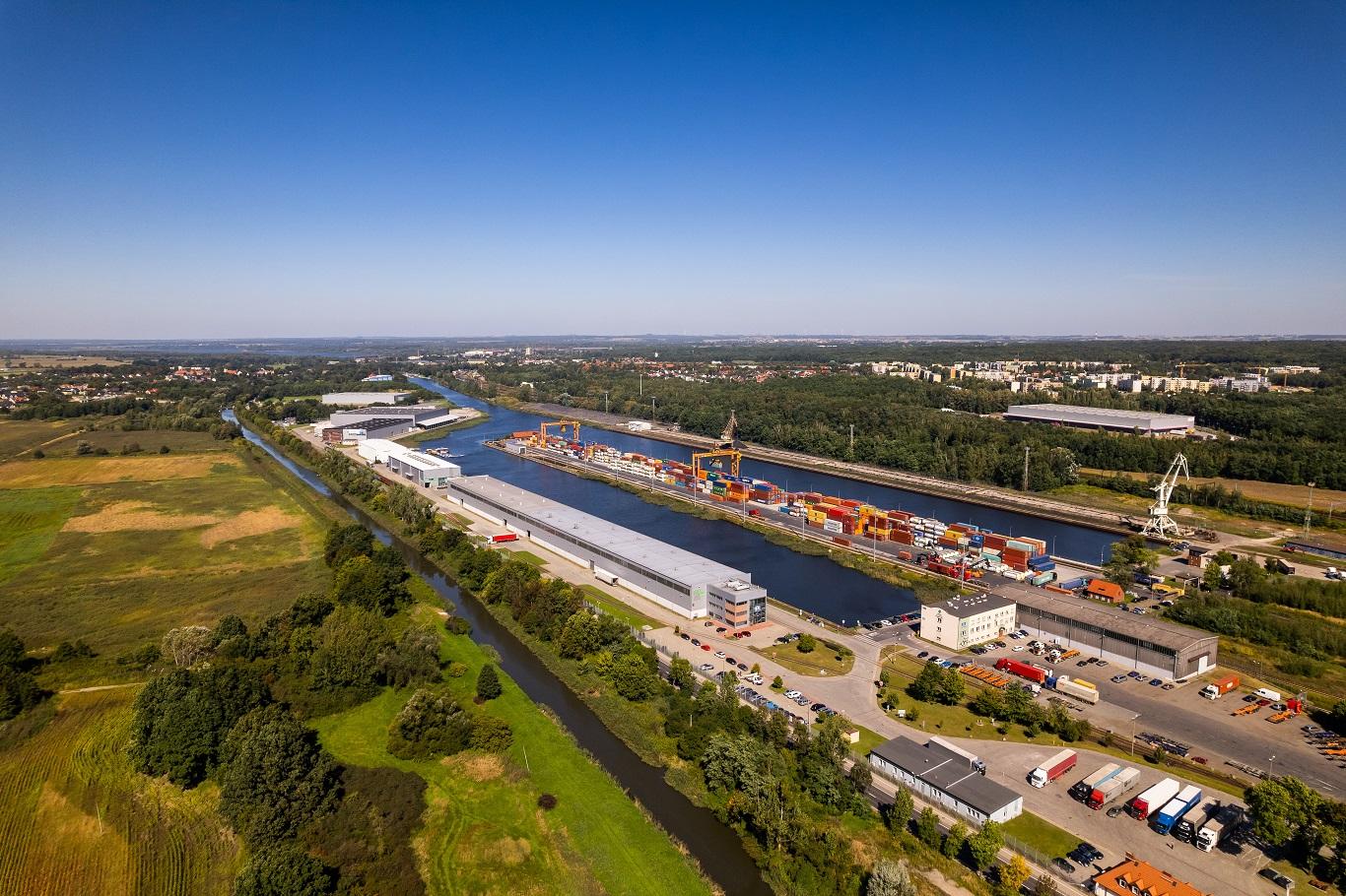 Infrastruktura Śląskiego Centrum Logistyki S.A.