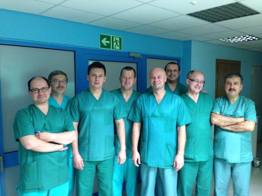 Zespół gliwickich chirurgów rekonstrukcyjnych