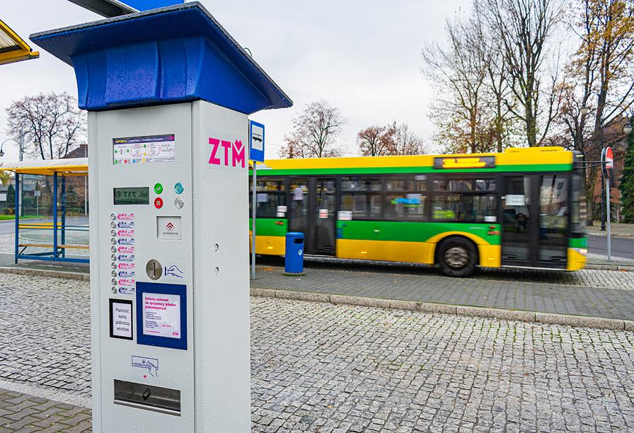 automat biletowy, autobus